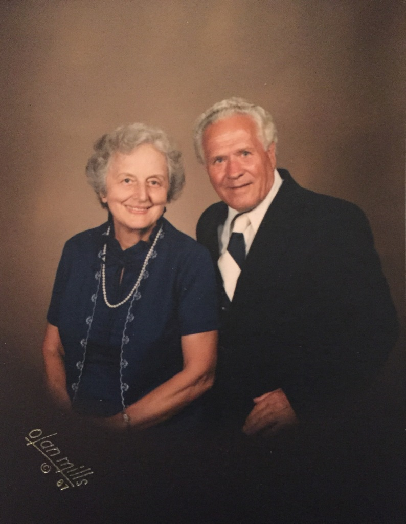 My grandparents during their retirement years